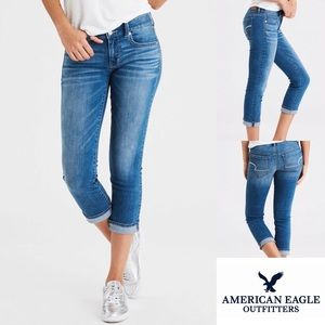 American Eagle Outfitters Artist Crop Denim